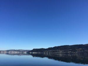 ニュージーランド風景_湖