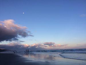 宇宙さんが住む街のビーチ